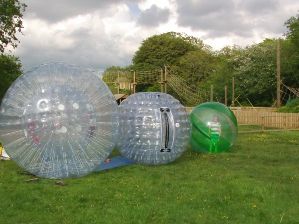 Different zorb sizes